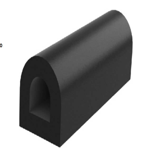 D type rubber fender